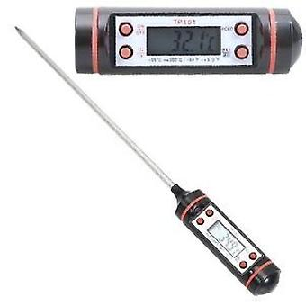 Food Thermometer works with food and liquids so will be your best friend in the kitchen! Roast meat, wine,