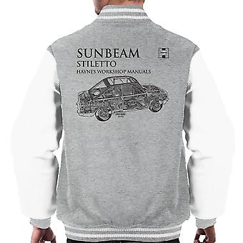 Haynes Workshop Manual 0022 Sunbeam Stiletto Black Men's Varsity Jacket