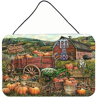 Pumpkin Patch and Fall Farm Wall or Door Hanging Prints