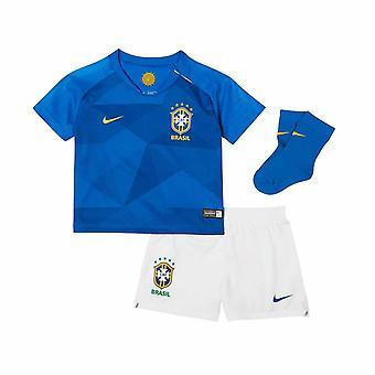 2018-2019 Brasile Nike Away Baby Kit