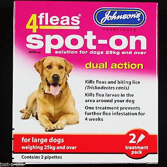 Johnson's 4 Fleas Spot OnLarge Dog 400mg