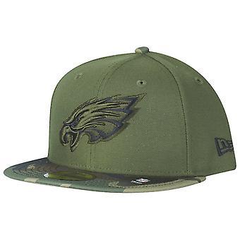 New era 59Fifty Cap - Philadelphia Eagles wood camo