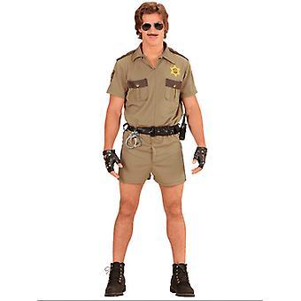 Traje de oficial de la patrulla de California H/forma * unico en stock *