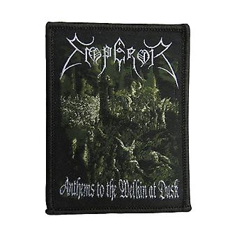 Emperor Patch Anthems to the Welkin at Dusk Official New Black Sew On 9cm x 6cm