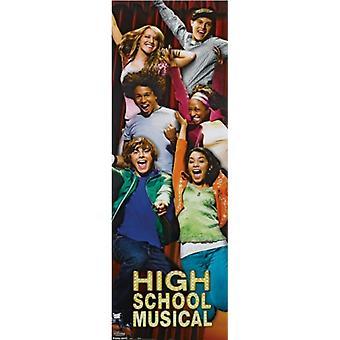 Disney High School Musical - ovi juliste Juliste Tulosta