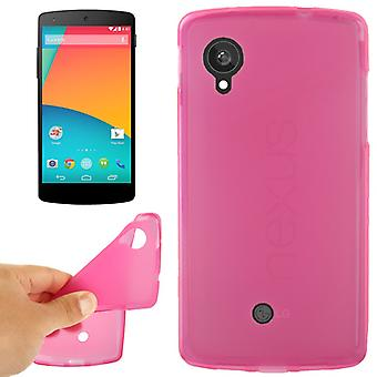 Protective case for cell phone LG Google nexus 5 / E980 pink
