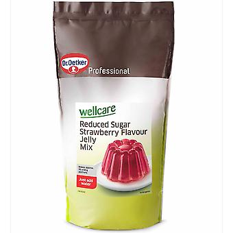 Dr Oetker Wellcare Reduced Sugar Strawberry Jelly Mix