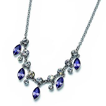 Oliver Weber Collier Sort Rhodium, Tanzanite