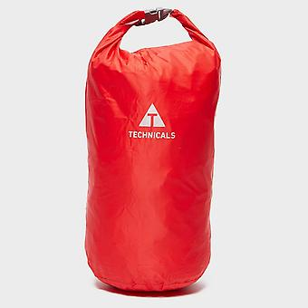 New Technicals Camping Treking 10 Litre Waterproof Storage Dry Bag Red