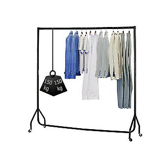 Hyfive Clothes Rail On Wheels Heavy Duty Clothes Rack Garment Hanger 4ft Long