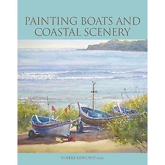 Malerei, Boote und Küstenlandschaft von Robert Brindley - 9781847971197