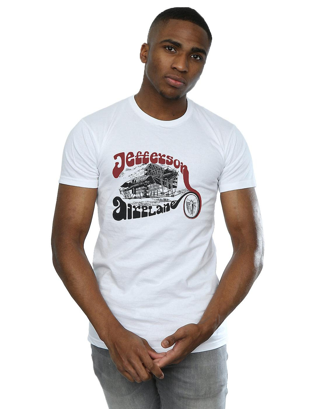 Jefferson Airplane Men's Vintage Plane T-Shirt