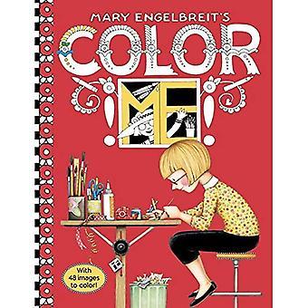 MARY ENGELBREIT'S COLOR ME MÅLARBOK (målarböcker)