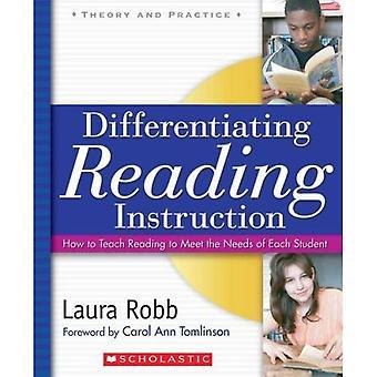 Onderscheidende lezing Instruction: Hoe om te leren lezen om te voldoen aan de behoeften van elke Student