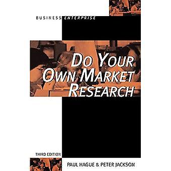 Faites vos propres recherches de marché