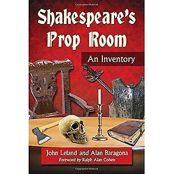 Shakespearen Prop huone: luettelo