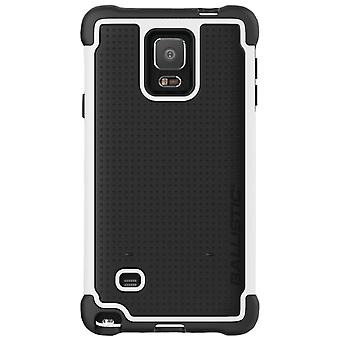 Ballistic Tough Jacket Case for Samsung Galaxy Note 4 (Black/White) - TJ1491-A08C