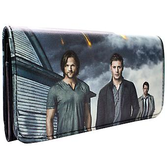 Supernatural Sam and Dean Winchester Card Flap Purse