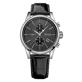 Hugo Boss 1513279-Herrenuhr mit Quarzwerk, Chronograph-Funktion und Leder-Armband