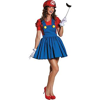 Mario Female Adult Kit