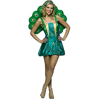 Beautiful Peacock Adult Costume