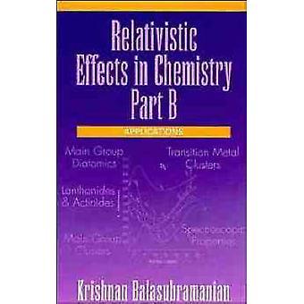 Relativistic Part B by Balasubramanian