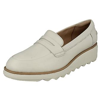 Ladies Clarks Casual Slip On Wedge Shoes Sharon Ranch