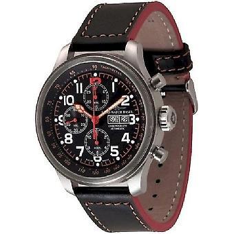Zeno-watch reloj OS piloto Chrono fecha 8557TVDD-7-a15