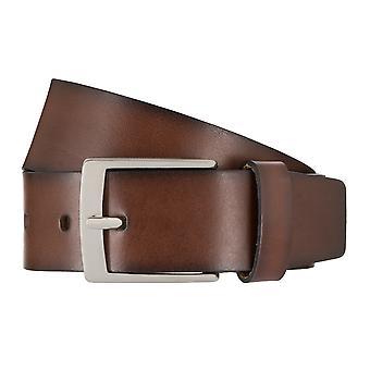 SCHUCHARD & FRIESE belt men's belt leather belt brown 7781