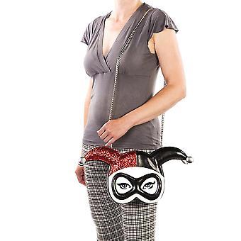 Ladies Harley Quinn Masked Menace Cross-Body Bag