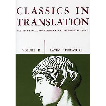 Klassiker i översättning av Paul L. MacKendrick-Herbert M. Howe-97