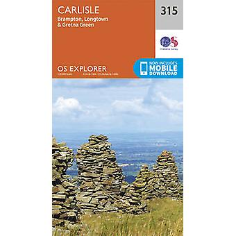 Carlisle - Brampton - Longtown and Gretna Green (September 2015 ed) b