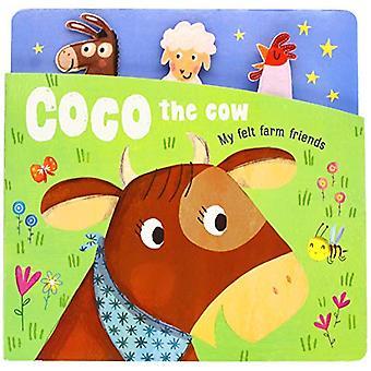 My Felt Farm Friends - Coco Cow by Yoyo Books - 9789463349314 Book