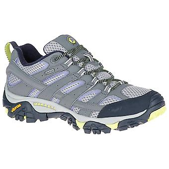 Merrell Navy Morning Womens Moab 2 GTX Walking Shoes
