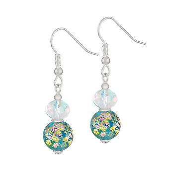 Eternal Collection Serene Turquoise Floral Glass And Crystal Silver Tone Drop Pierced Earrings Eternal Collection Serene Turquoise Floral Glass And Crystal Silver Tone Drop Pierced Earrings Eternal Collection Serene Turquoise Floral Glass And Crystal Silver Tone Drop Pierced Earrings Eternal Collection