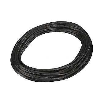 SLV Low-Voltage Cable, For Tenseo Low-Voltage Cable System, Black, 6mm, 20M