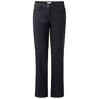 Craghoppers Navy Womens Kiwi Pro Convertible Trousers