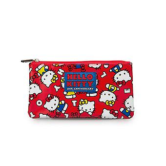 Torba na monety - Hello Kitty - 40-lecie Red New Licensed sancb0585