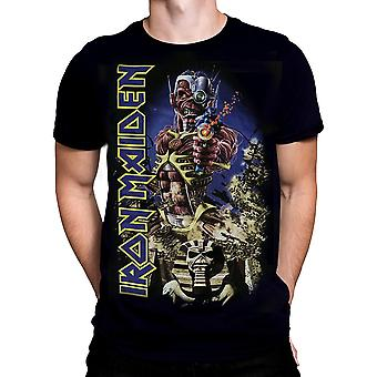 PhD-ergens in time-Iron Maiden t-shirt
