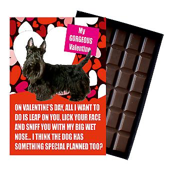 Scottish Terrier Gift for Valentines Day Presents Dog Lovers Boxed Chocolate