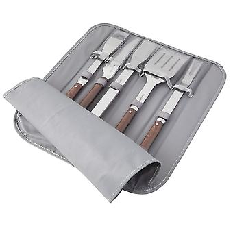BergHOFF 6 TLG. Barbecue set in een opvouwbare tas