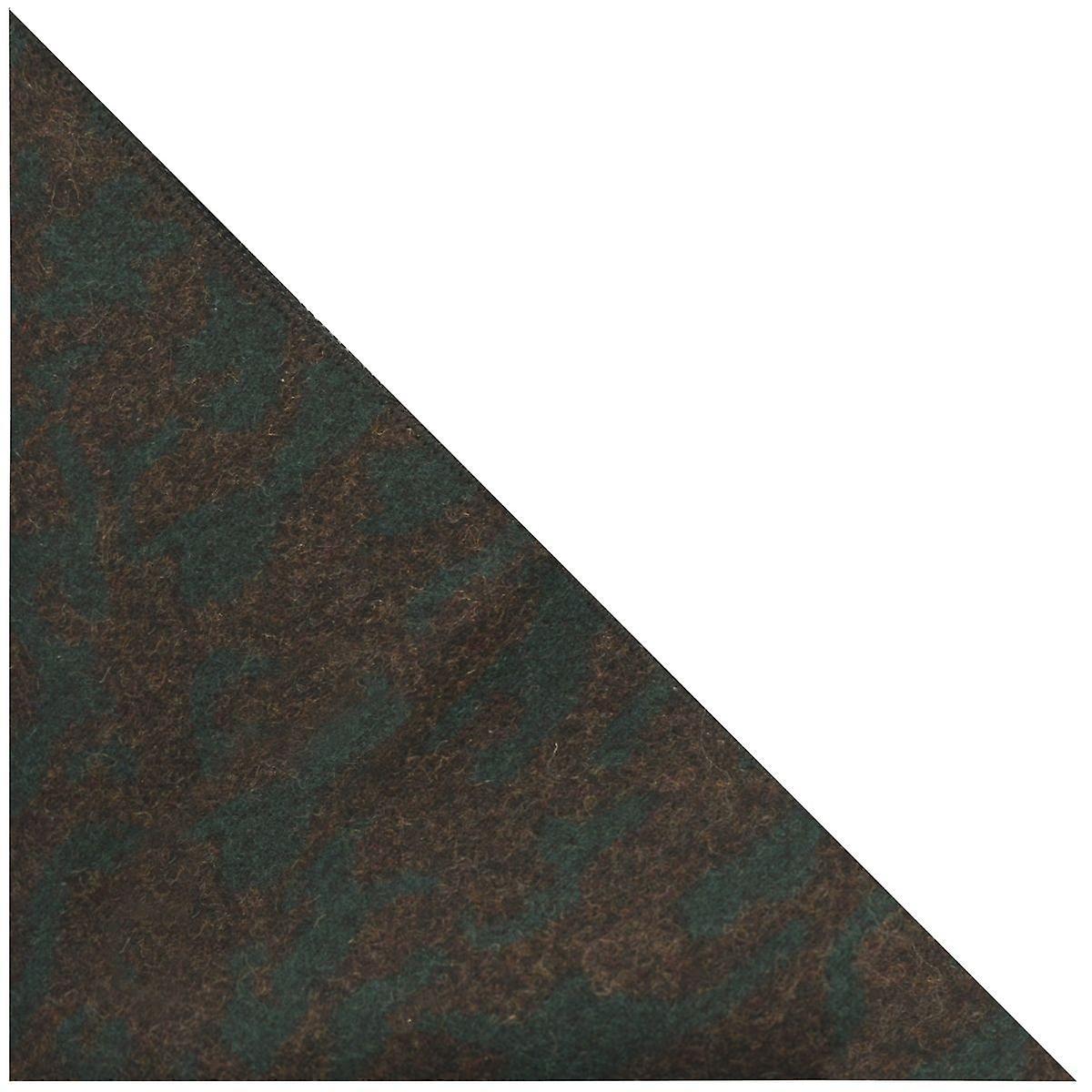 Luxury Persian Dark Teal Pattern Pocket Square, Handkerchief