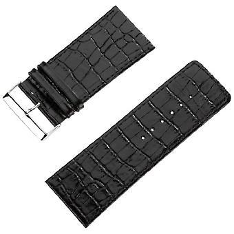 Pure grey Watch Unisex ref. 71S-Genf 3/2 Krokooptik 38/36 schwarz