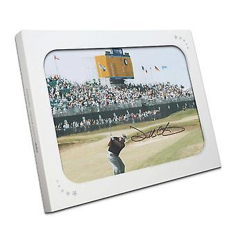 Darren Clarke Signed Golf Photo: The Winning 2011 Open Shot. In Gift Box