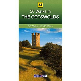 Nye AA 50 gåture i Cotswolds Green