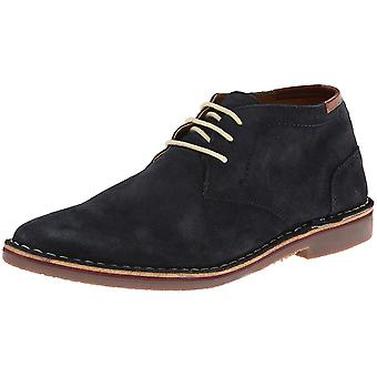 Kenneth Cole Reaction Mens Desert Sun Suede Open Toe Ankle Fashion Boots
