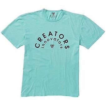 Vissla rainbow tee shirt jade