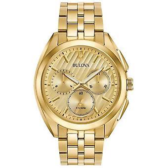 Bulova Mens Curv Chronograph Dress Progressive 97A125 Watch