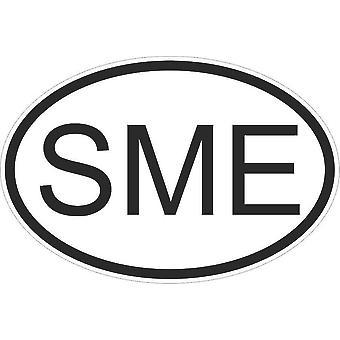 Autocollant Sticker Drapeau Oval Code Pays Voiture Moto Suriname Surinamais Sme