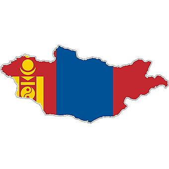 Sticker Sticker Adhesif Car Vinyl Flag Map Mongolia